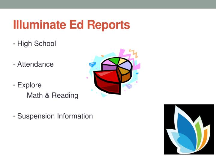 Illuminate Ed Reports