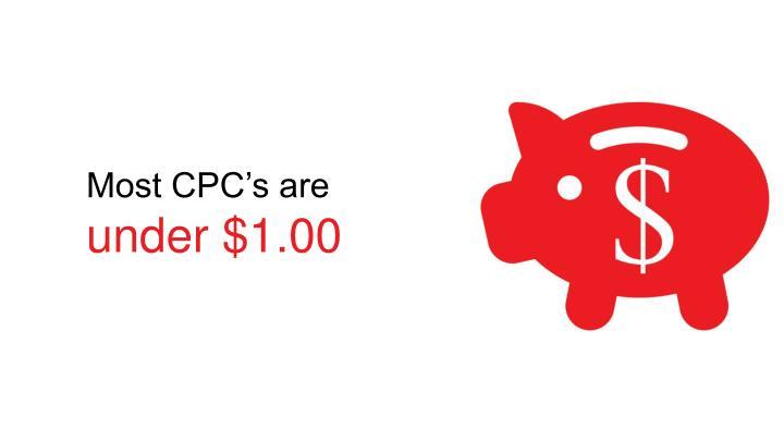 Most CPC's are