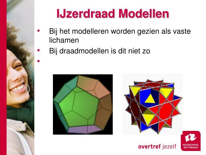 IJzerdraad Modellen