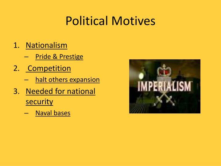 Political Motives