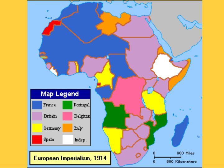Africa imperialism