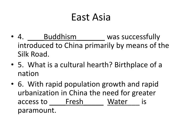 East asia1