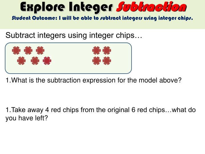 Explore Integer