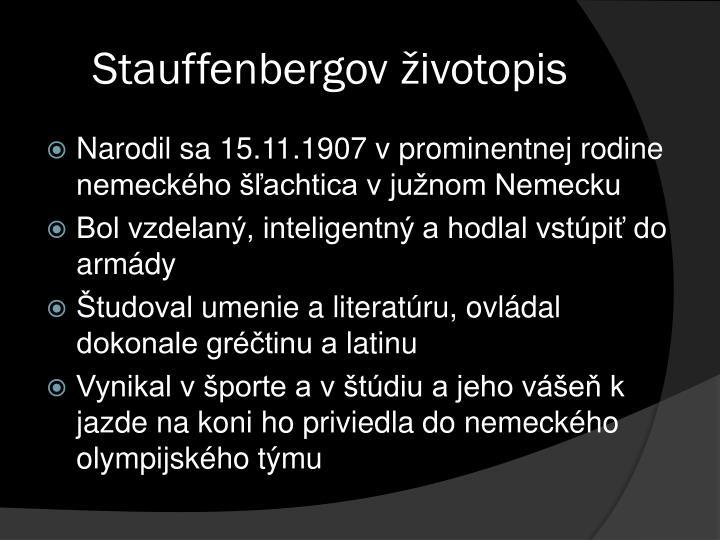 Stauffenbergov
