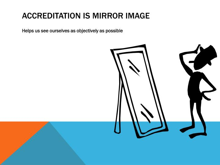 Accreditation is Mirror Image