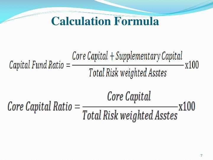 Calculation Formula