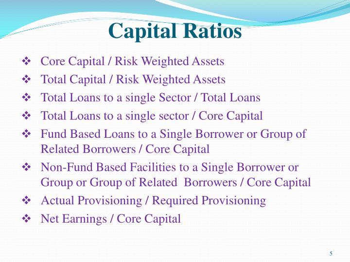 Capital Ratios