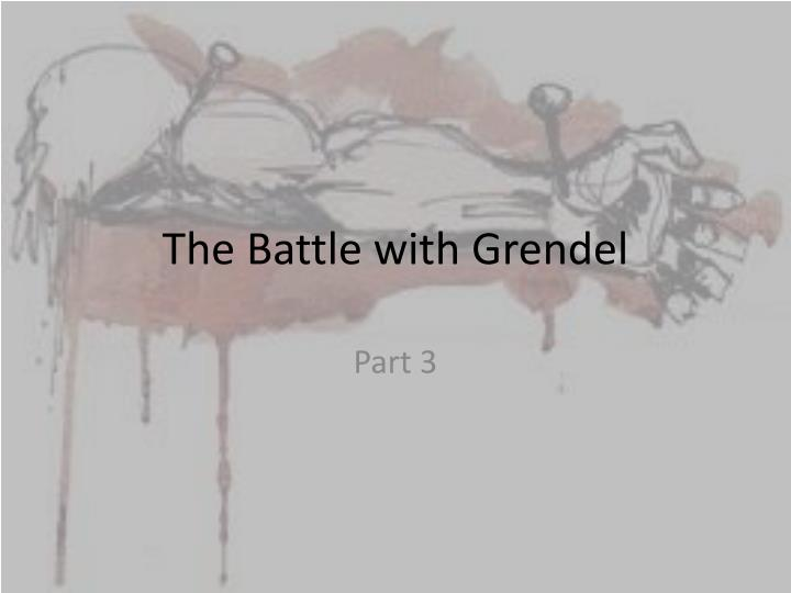 the battle with grendel n.