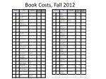 book costs fall 2012