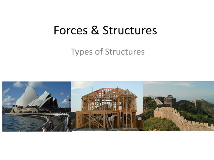 forces structures n.