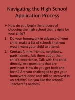 navigating the high school application process2
