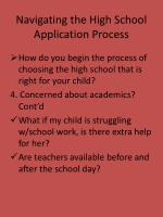 navigating the high school application process6