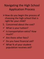 navigating the high school application process7