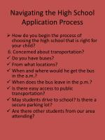 navigating the high school application process9