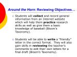 around the horn reviewing objectives
