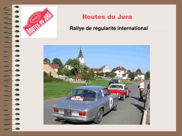 Routes du Jura