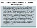 perkembangan pembangkit listrik tenaga angin