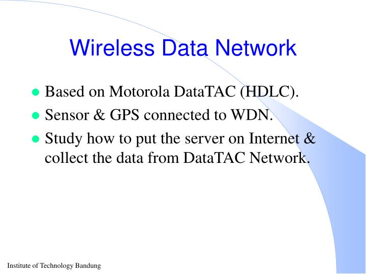 Wireless Data Network