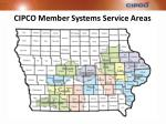 cipco member systems service areas