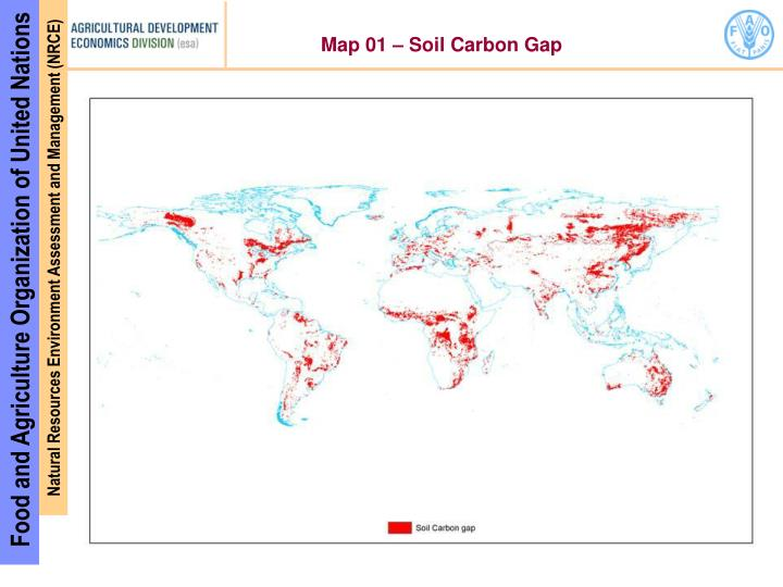 Map 01 – Soil Carbon Gap