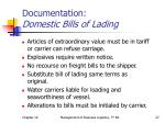documentation domestic bills of lading3