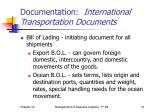 documentation international transportation documents1