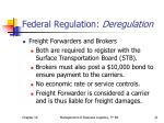 federal regulation deregulation3
