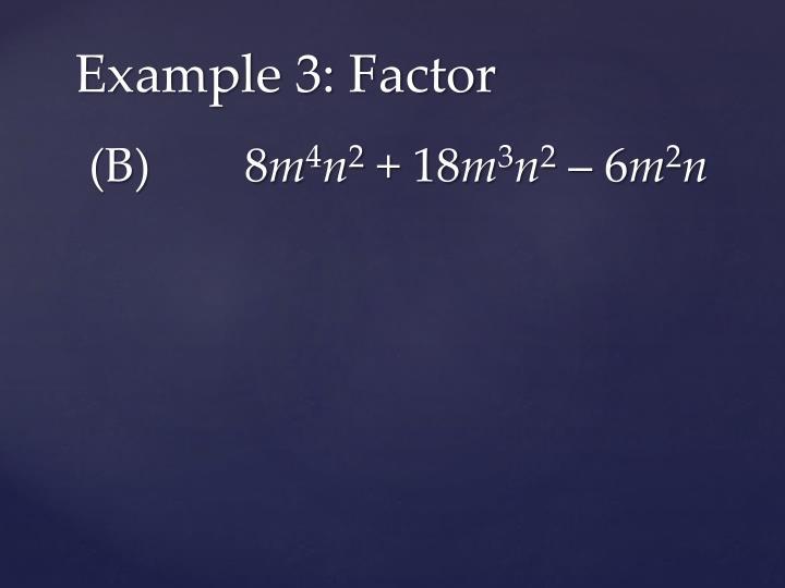 (B)   8