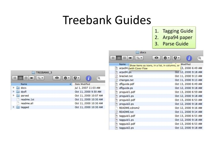 Treebank Guides