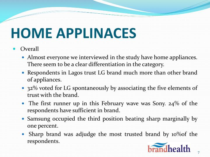 HOME APPLINACES