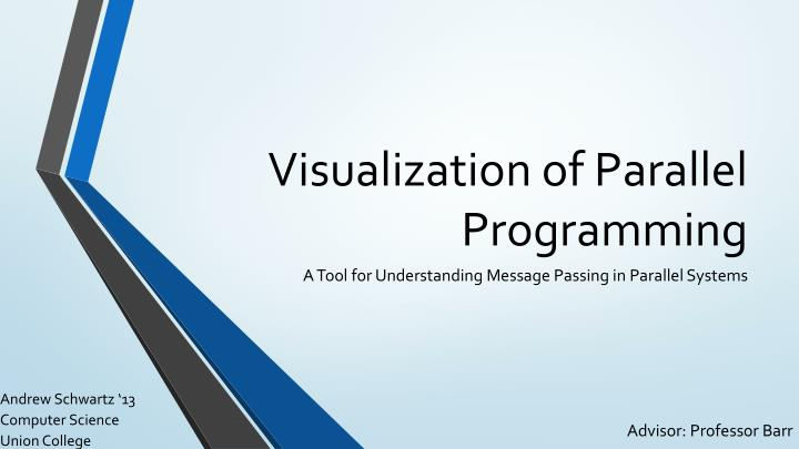 visualization of parallel programming n.