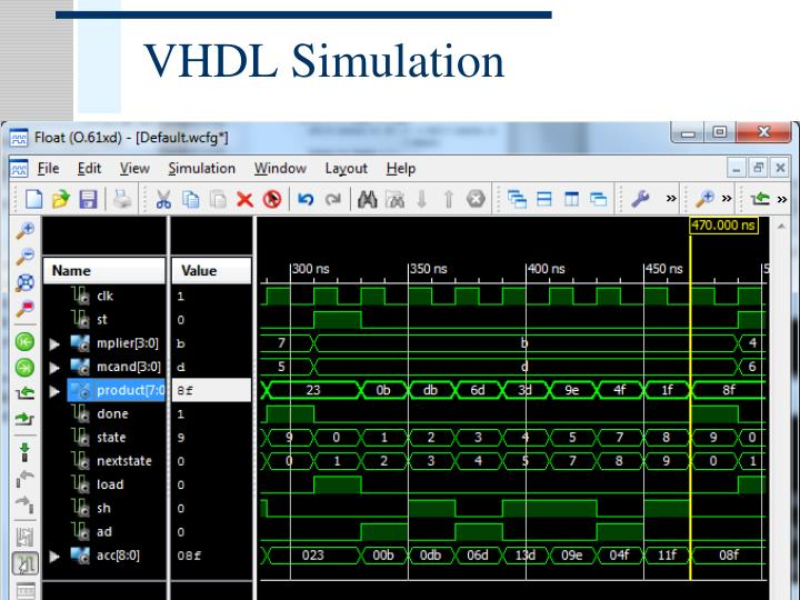 VHDL Simulation