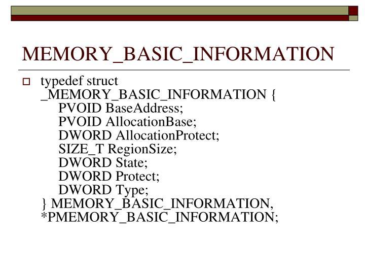 MEMORY_BASIC_INFORMATION