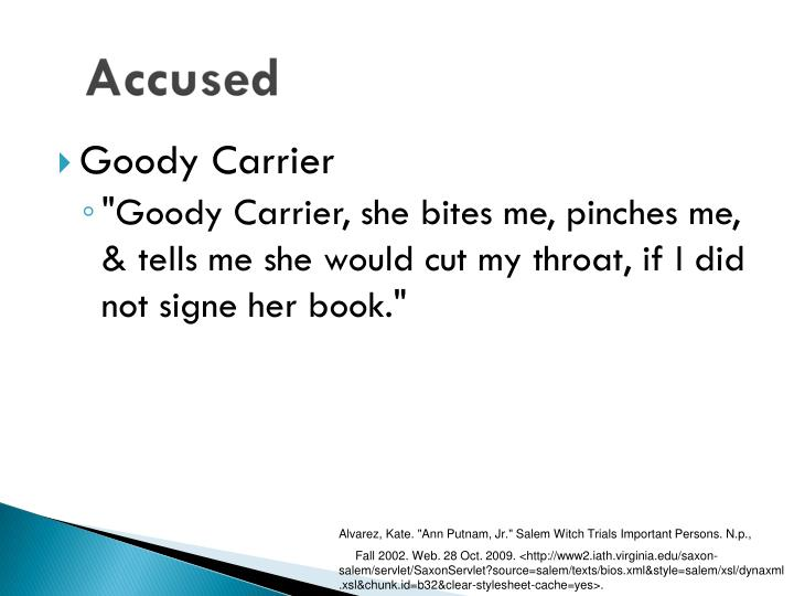 Goody Carrier