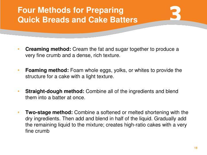 Four Methods for Preparing