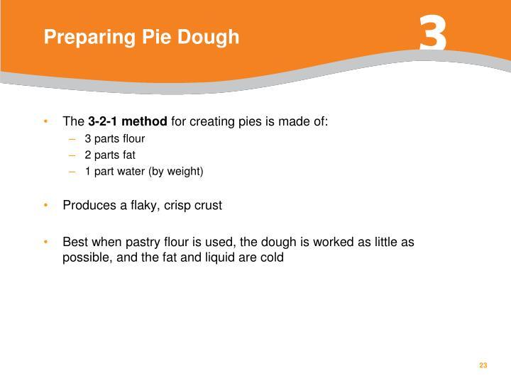 Preparing Pie Dough