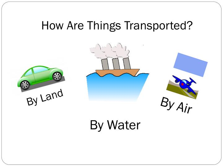 How Are Things Transported?