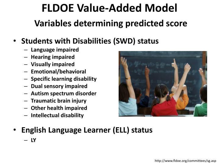 FLDOE Value-Added Model