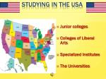studying in the usa