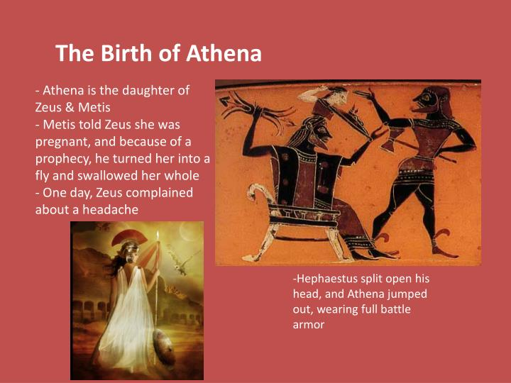 The Birth of Athena