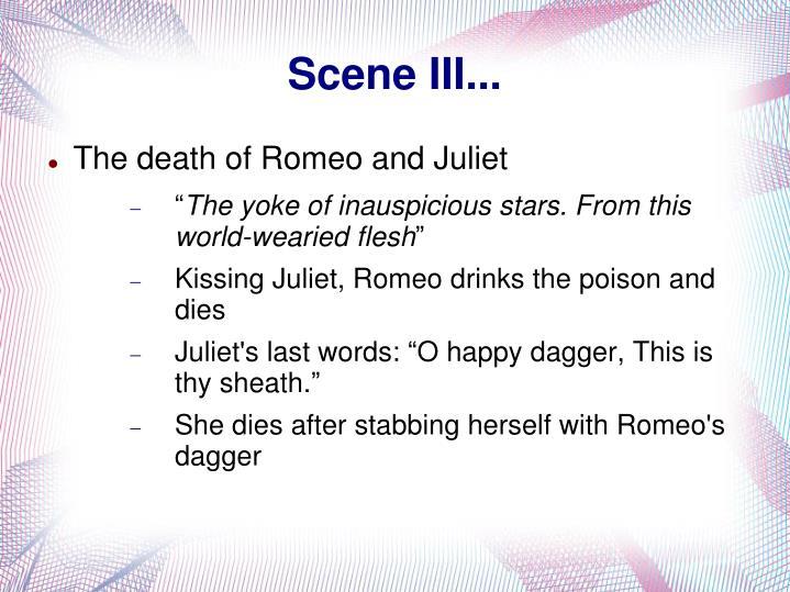 Scene III...
