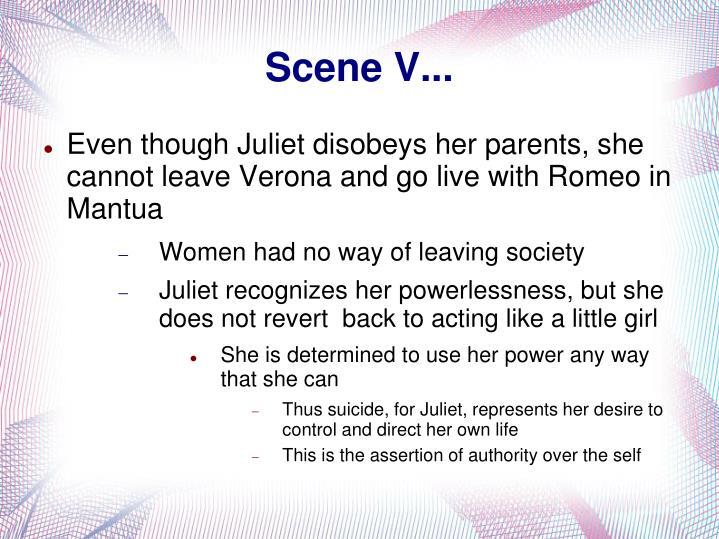 Scene V...