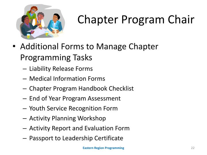 Chapter Program Chair