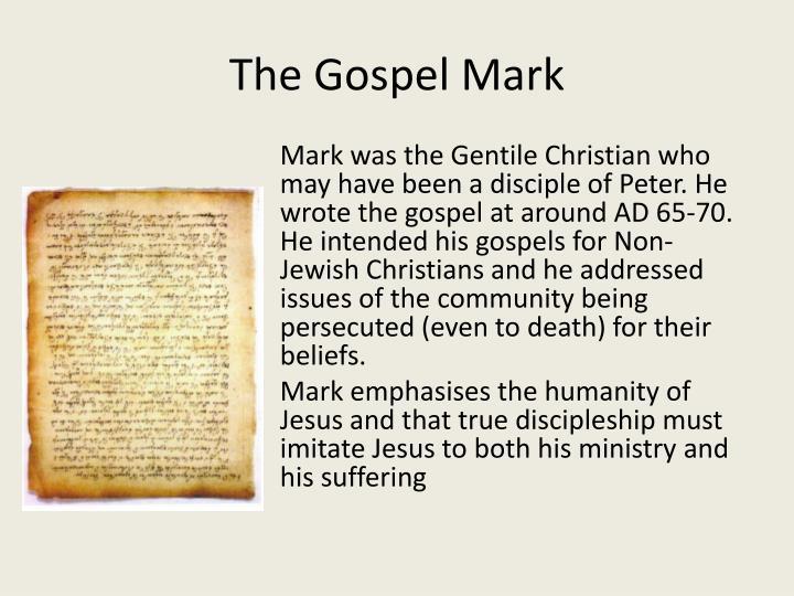 The Gospel Mark