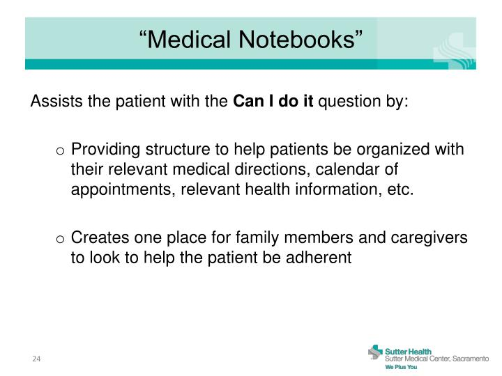 """Medical Notebooks"""