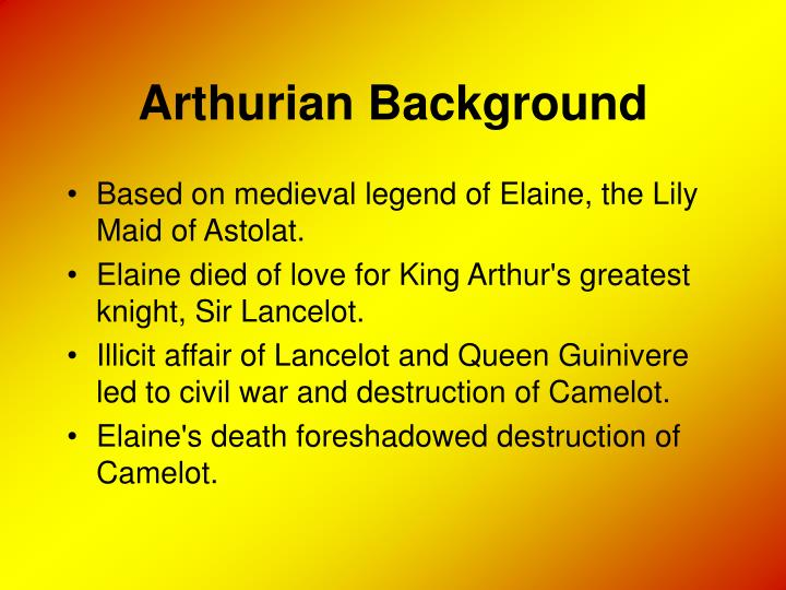 Arthurian background