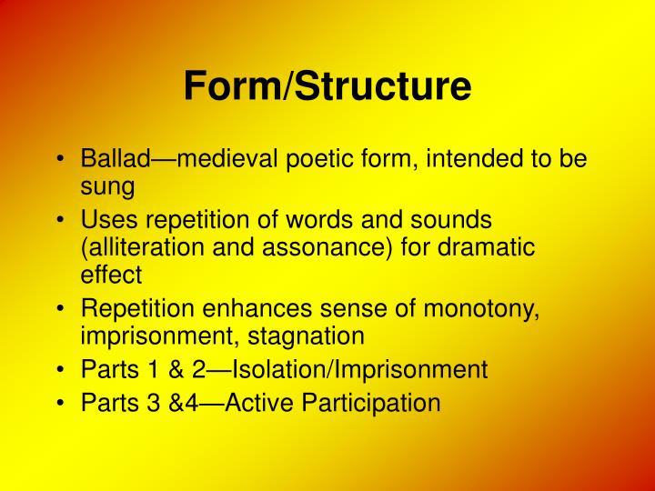 Form/Structure