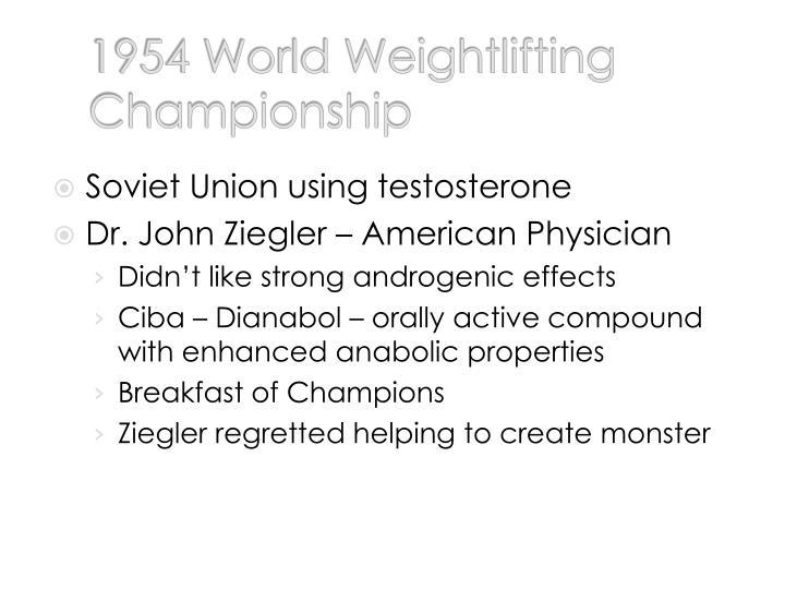 1954 World Weightlifting Championship