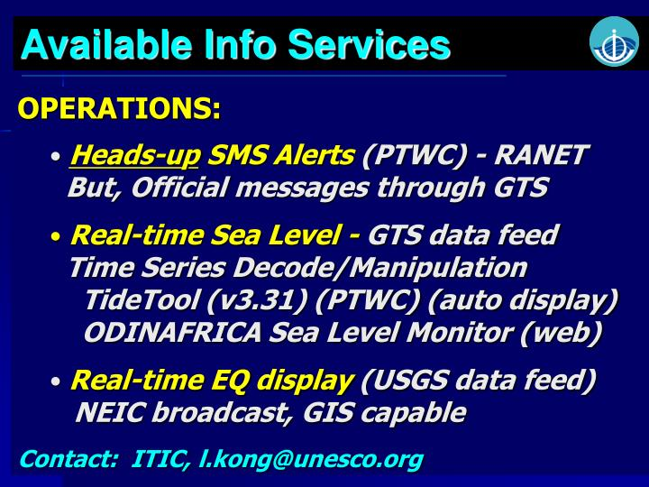 Available Info Services