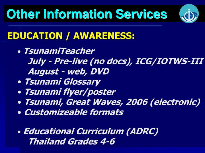 Other Information Services